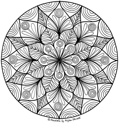 Malvorlagen Erwachsene Mandala