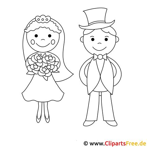 Malvorlagen Für Kinder Hochzeit