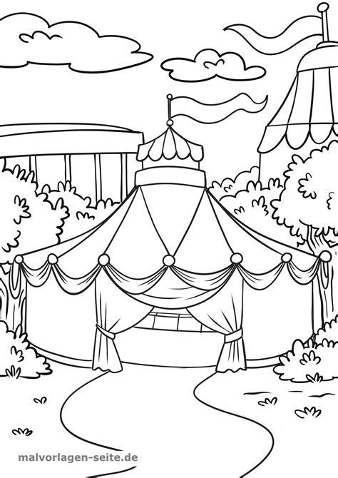 Malvorlagen Für Zirkus