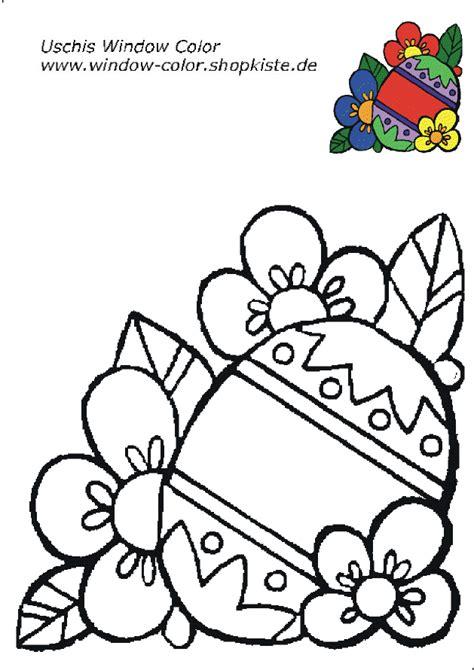 Malvorlagen Fensterbilder Ostern