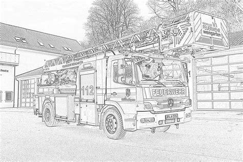 Malvorlagen Feuerwehr Challenge