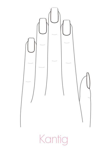 Malvorlagen Fingernägel