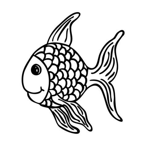 Malvorlagen Fische Jung