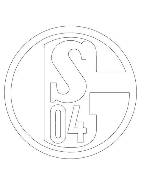 Malvorlagen Fußball Schalke 04