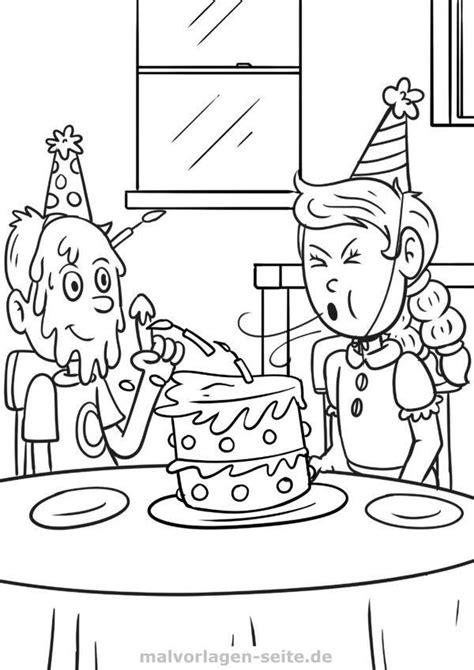 Malvorlagen Geburtstag Quiz