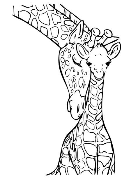 Malvorlagen Giraffe Baby