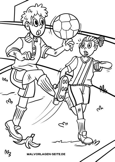 Malvorlagen Gratis Fussball