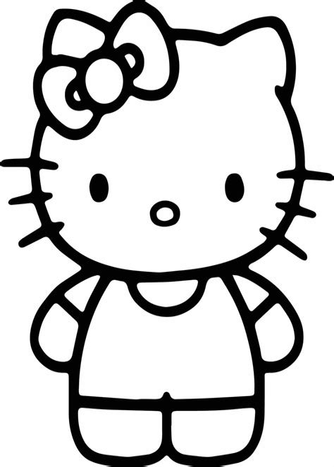 Malvorlagen Gratis Hello Kitty