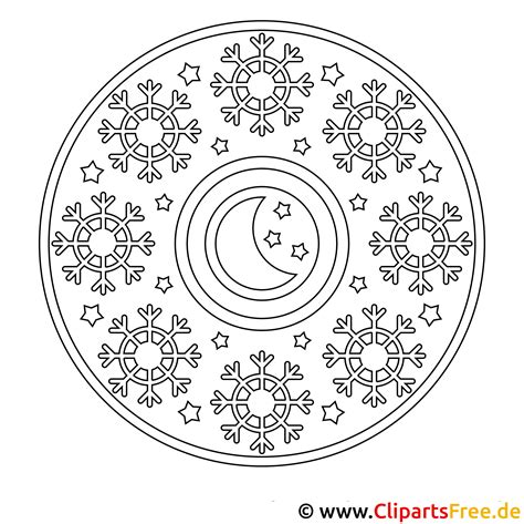 Malvorlagen Gratis Mandala Weihnachten