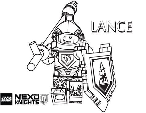Malvorlagen Gratis Nexo Knights