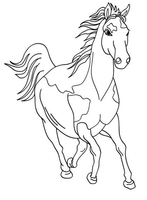 Malvorlagen Gratis Pferde