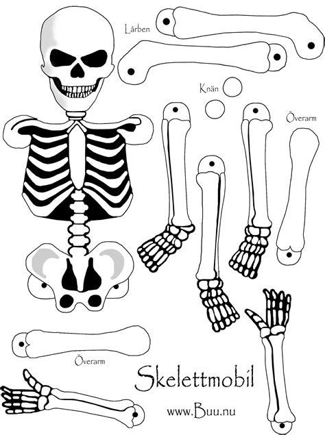 Malvorlagen Halloween Skelett