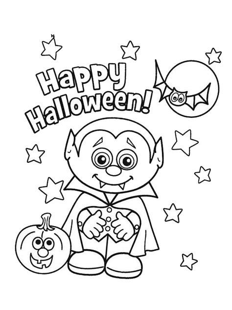 Malvorlagen Happy Halloween