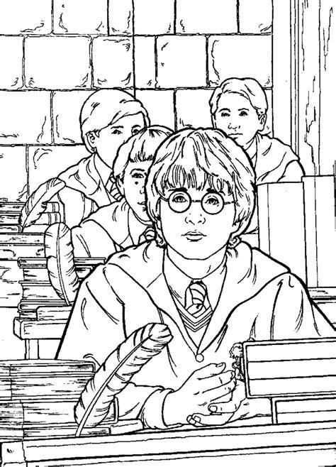 Malvorlagen Harry Potter Gratis