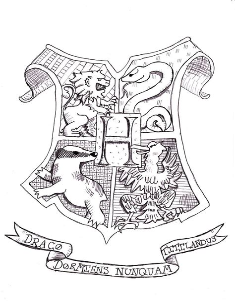 Malvorlagen Harry Potter Gryffindor