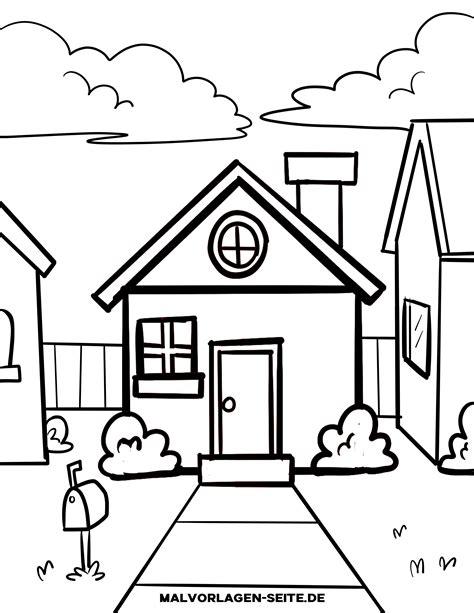 Malvorlagen Haus Für Kinder