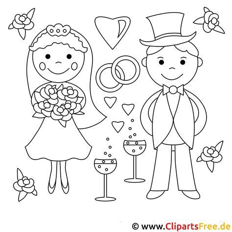 Malvorlagen Hochzeit Gratis
