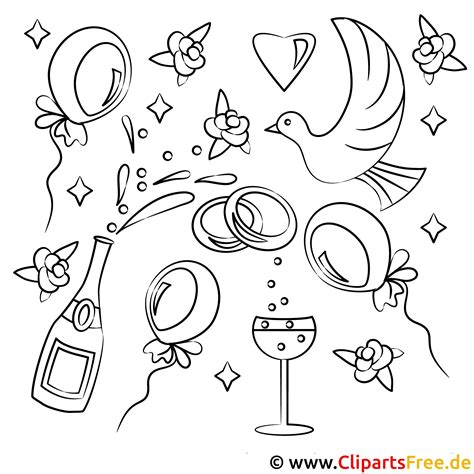 Malvorlagen Hochzeit Malbuch