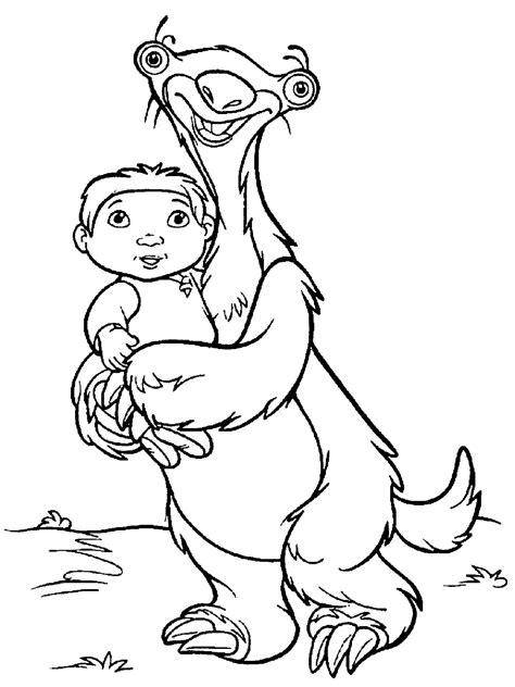 Malvorlagen Ice Age Online