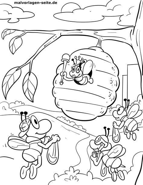 Malvorlagen Insekten Spielen