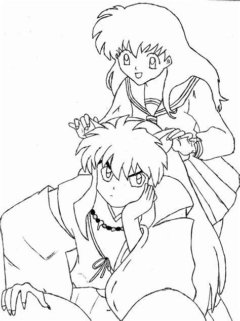 Malvorlagen Inuyasha