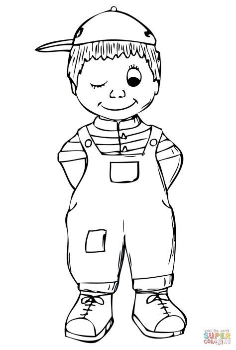 Malvorlagen Jungen Kostenlos Kinder