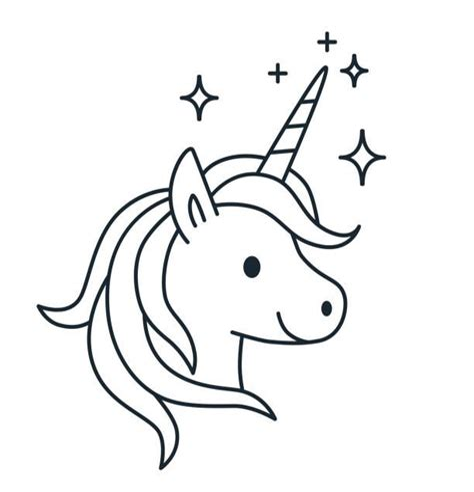 Malvorlagen Karneval Unicorn
