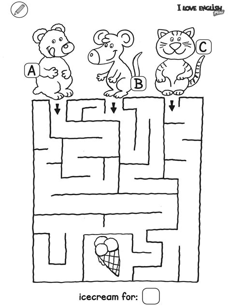 Malvorlagen Kinder Labyrinth