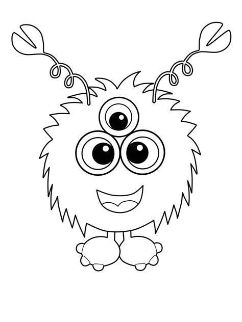 Malvorlagen Kleine Monster