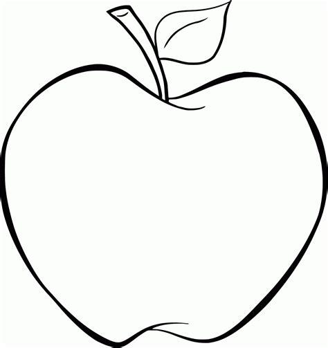 Malvorlagen Kostenlos Apfel