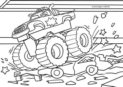 Malvorlagen Kostenlos Ausdrucken Monster Truck