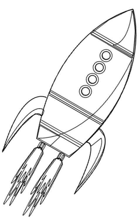Malvorlagen Kostenlos Ausdrucken Rakete