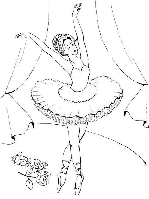 Malvorlagen Kostenlos Ballerina