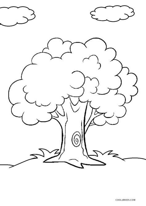 Malvorlagen Kostenlos Baum