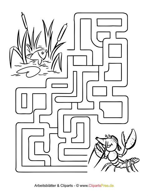 Malvorlagen Labyrinth Kostenlos