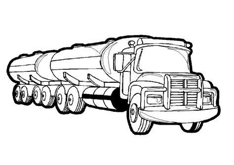 Malvorlagen Lastwagen Für Kinder