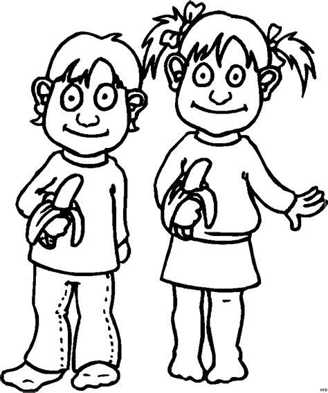 Malvorlagen Mädchen Und Junge