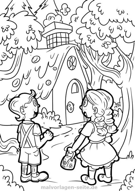 Malvorlagen Märchen Hänsel Und Gretel