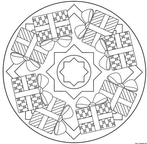 Malvorlagen Mandalas Weihnachten