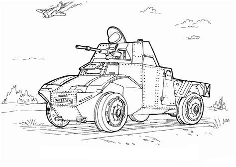 Malvorlagen Militärfahrzeuge