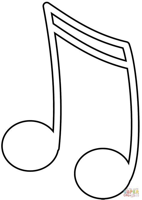 Malvorlagen Musiknoten Kostenlos