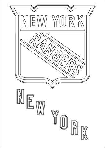 Malvorlagen New York Rangers