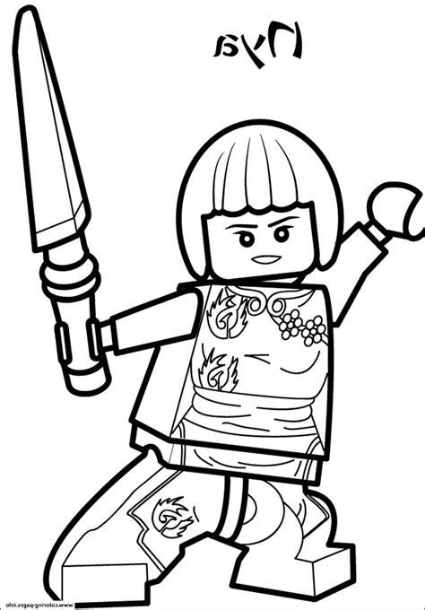 Malvorlagen Ninjago Nya