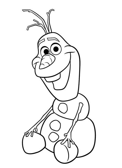 Malvorlagen Olaf
