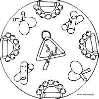 Malvorlagen Orff Instrumente