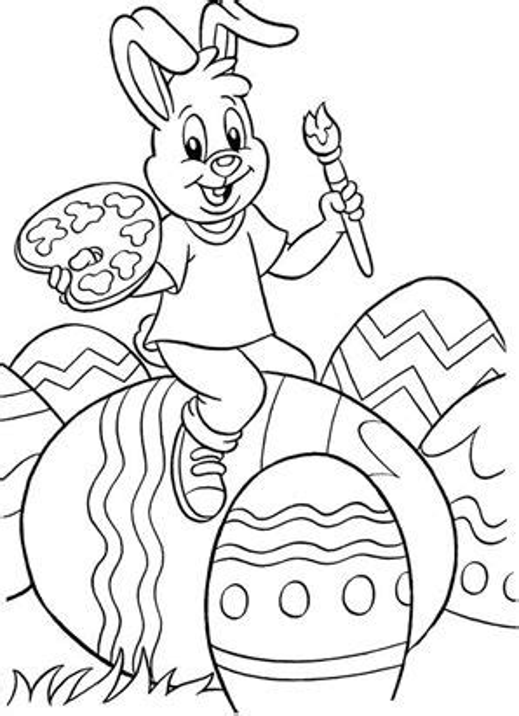 Malvorlagen Ostern Kindergarten