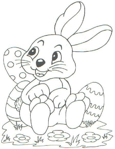 Malvorlagen Ostern Kleinkinder