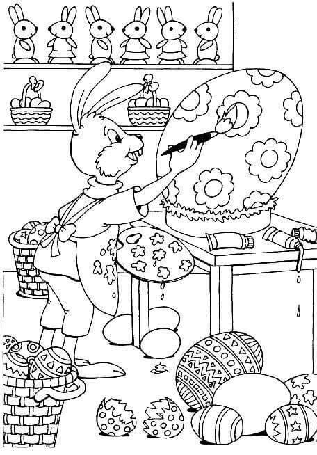 Malvorlagen Ostern Quiz
