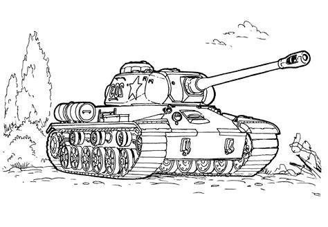 Malvorlagen Panzer Ausmalen