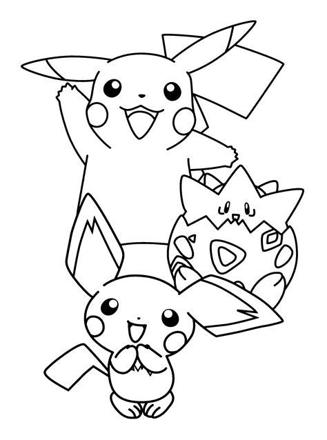 Malvorlagen Pokemon Pikachu